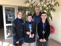 Notre équipe 13/14 ans est championne par équipe du Comité de ligue de Seine St Denis.