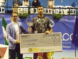 Belle semaine de compétition pour notre joueur numéro 1 R.Roumane en Espagne